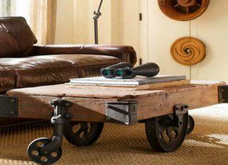 vintage bútorok újra gondolt funkcionalitás
